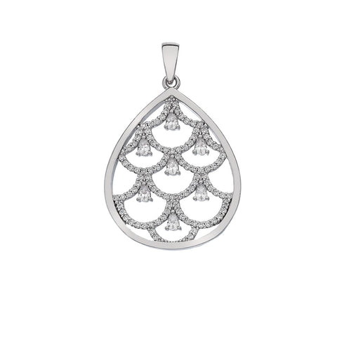 Hot Diamonds Emozioni Eleganza Lust Layer Pendant Charm EP023 2150019