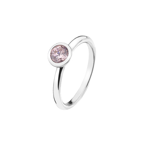 Hot Diamonds Emozioni Pink Compassion Ring ER017 2101135