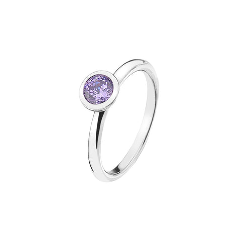 Hot Diamonds Emozioni Lavender Calmness Ring ER020 2101138