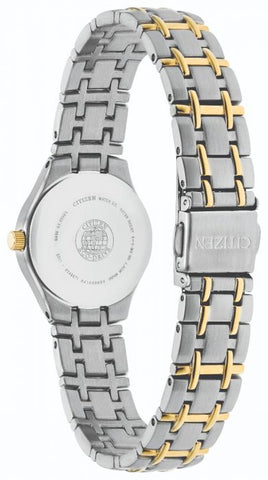 Citizen Ladies Silhouette Eco Drive Two Tone Watch EW1264-50A 1003347