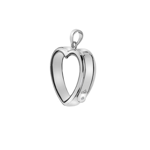 Hot Diamonds Anais Medium Heart Locket Keeper EX003 AL003 2010004