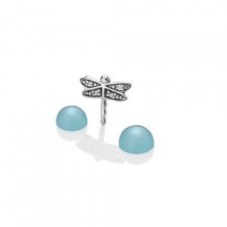 Hot Diamonds Anais Dragonfly with Blue Agate Charms EX204 AC053 2007205