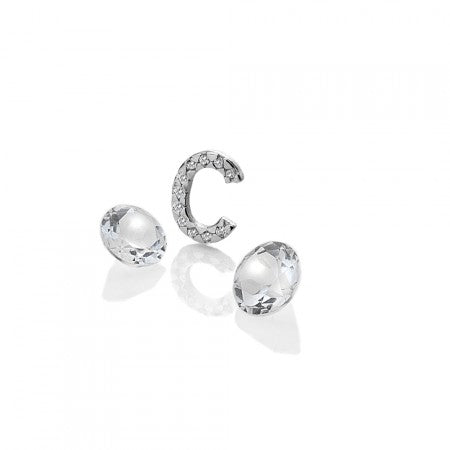 Hot Diamonds Anais Letter C with White Topaz Charms EX222 AC071 2007222