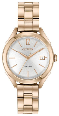Citizen Rose Gold Eco-Drive Ladies Watch FE6143-56A 1003334