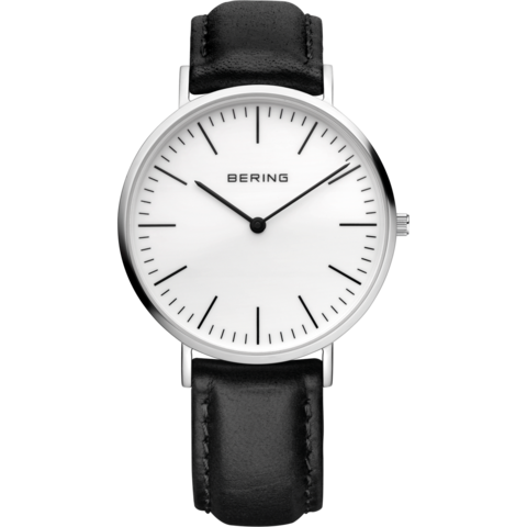 Bering Gents Classic Polished Silver Watch 13738-404