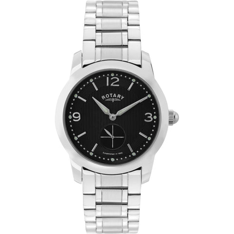 Rotary Mens Stainless Steel Bracelet Watch GB02700/04