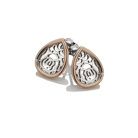 Hot Diamonds Faith Teardrop Rose Gold Earrings DE529