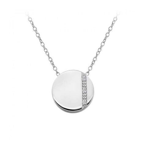 Hot Diamonds Silhouette Circle Pendant DP594 2004357