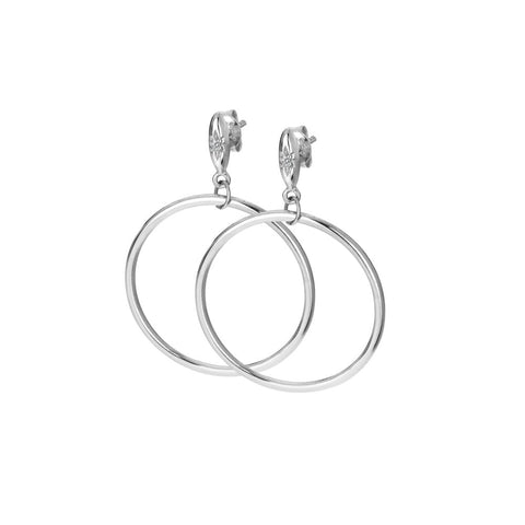 Hot Diamonds Hoops Circle Earrings DE631