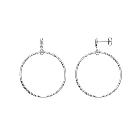 Hot Diamonds Hoops Large Circle Earrings DE630