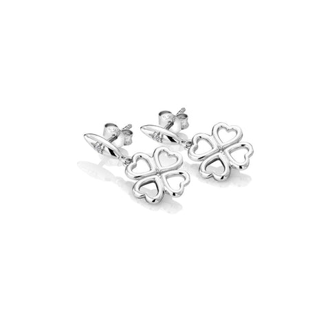 Hot Diamonds Lucky in Love Drop Earrings DE634