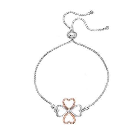 Hot Diamonds Lucky in Love Bracelet DL604