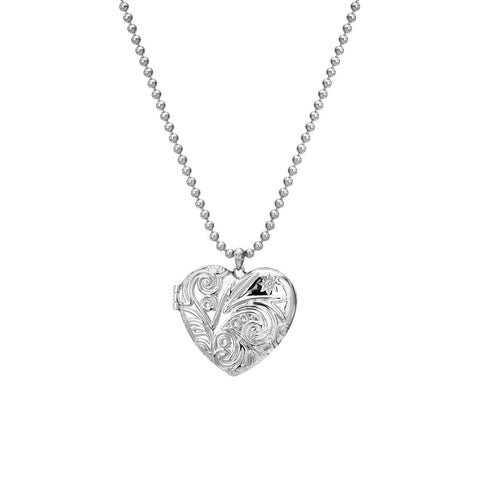 Hot Diamonds Memories Engraved Heart Locket DP772