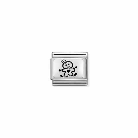 Nomination Silver Baby Boy Charm 330109 50