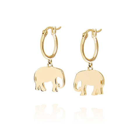 Daisy - Good Karma Elephant Drop Earrings KE5012 X
