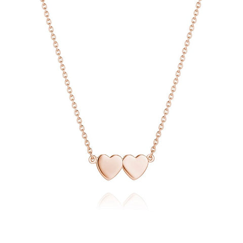Daisy - Good Karma Double Heart Necklace KN1001 X