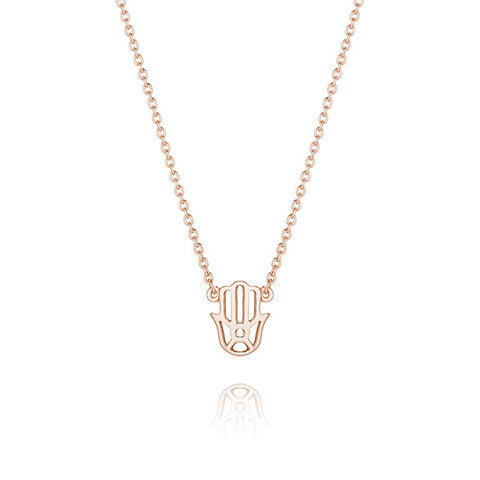 Daisy - Good Karma Hand of Fatima Necklace KN1011 X