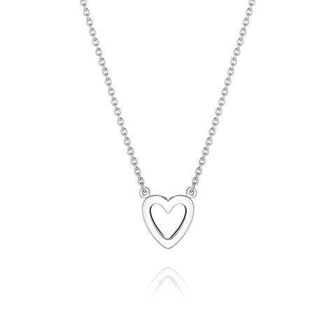 Daisy - Good Karma Open Heart Necklace KN3002 X