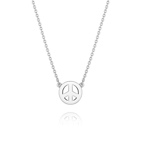 Daisy - Good Karma Peace Sign Necklace KN3018 X