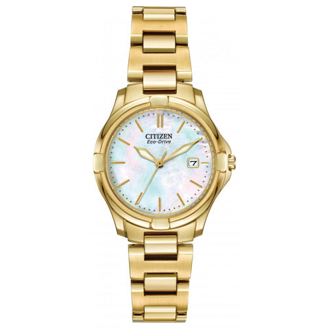 Citizen Eco-Drive Ladies Bracelet Watch EW1962-53D 1003353