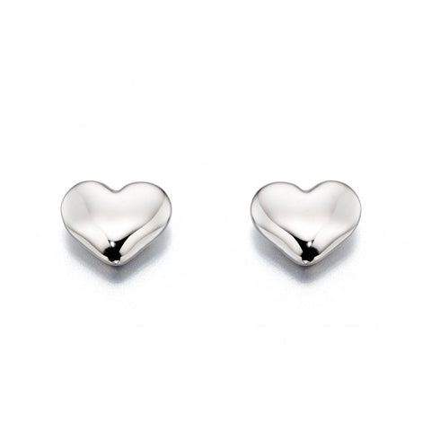 Little Star Jewellery - Phoebe Heart Stud Earrings LSE0063 0503012