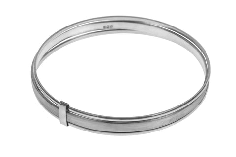 Tianguis Jackson Sterling Silver Triple Slave Bangle BT2173 0401240