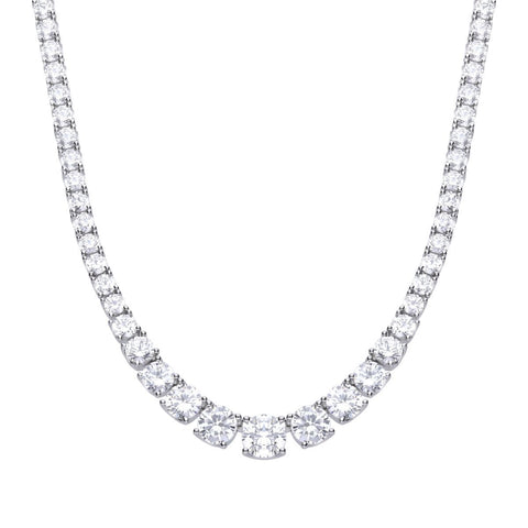 Diamonfire Graduated Tennis Necklace N4338 4704011