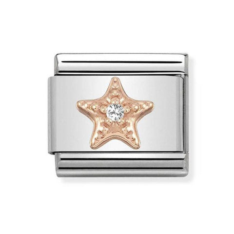 Nomination 9ct Rose Gold Starfish Charm 430305 27