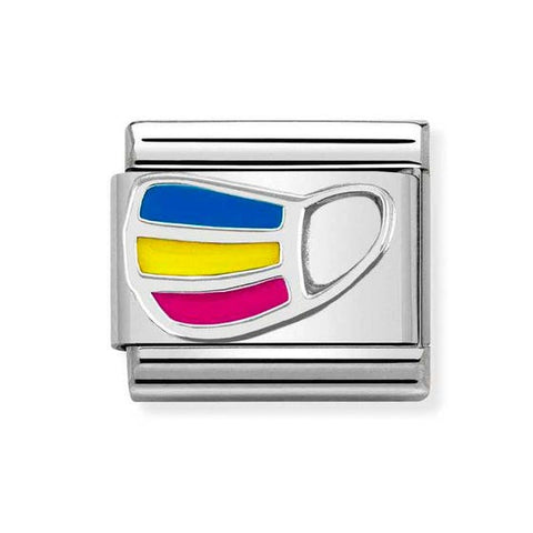 Nomination Rainbow Mask Charm 330204 24