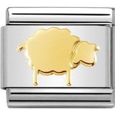Nomination 18ct Gold Sheep Charm 030112 35