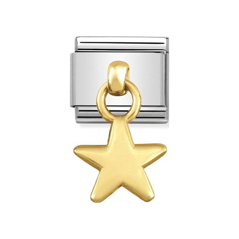 Nomination Hanging Gold Star Charm 031800 05