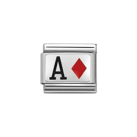 Nomination Ace of Diamonds Charm 330208 25
