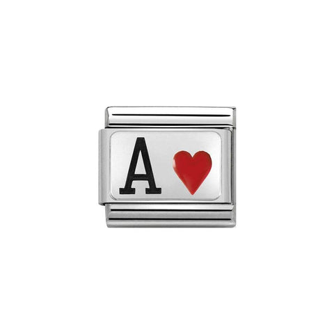 Nomination Ace of Hearts Charm 330208 24