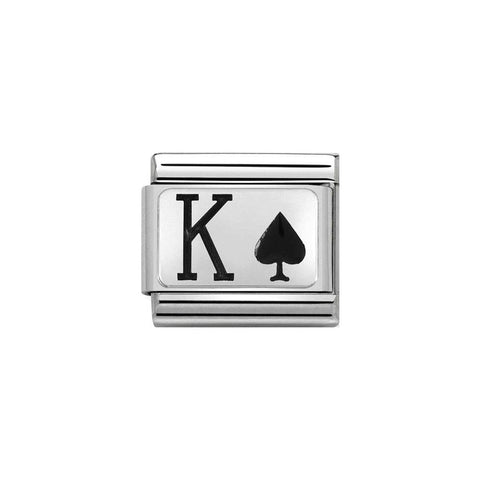 Nomination King of Spades Charm 330208 29