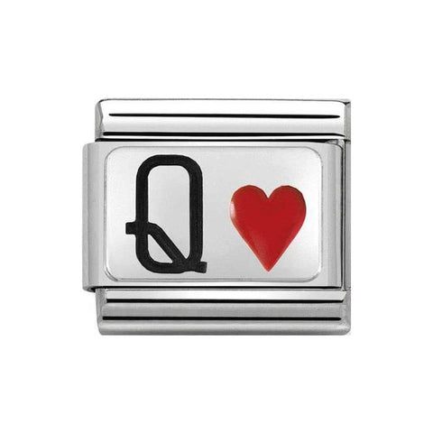 Nomination Queen of Hearts Charm 330208 30