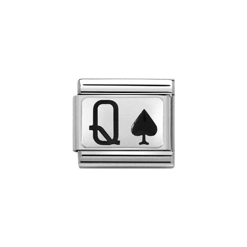 Nomination Queen of Spades Charm 330208 31