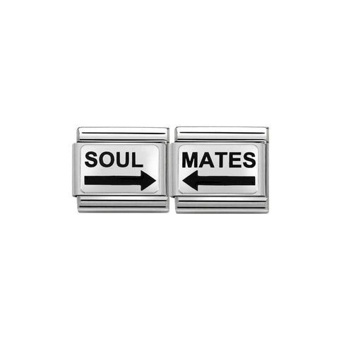 Nomination - One For Me One For You - Soul Mates Arrow Charms 339219 20