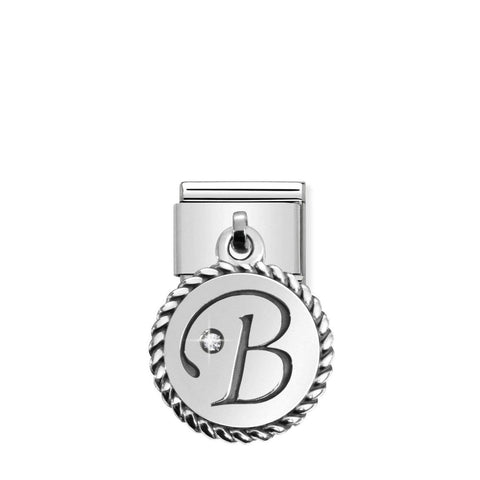 Nomination Hanging Letter B Charm 031715 02