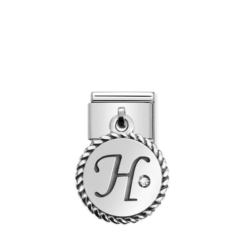 Nomination Hanging Letter H Charm 031715 08