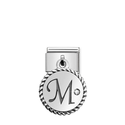 Nomination Hanging Letter M Charm 031715 13