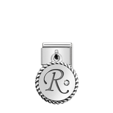 Nomination Hanging Letter R Charm 031715 18