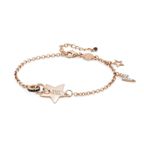 Nomination - Easychic Rose Gold Best Sister Star Bracelet 147901 046