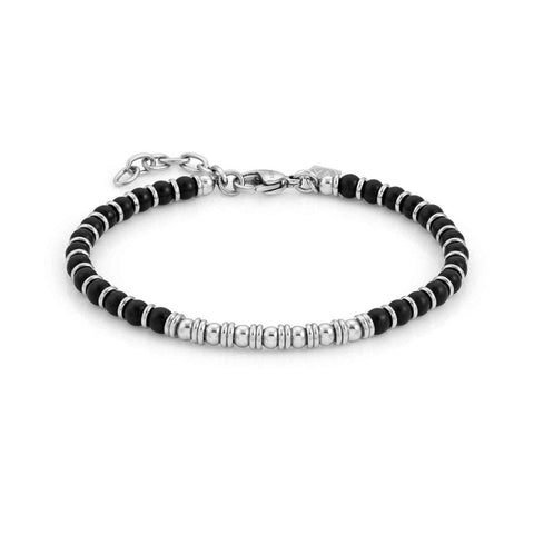 Nomination Instinct Bead Bracelet with Black Onyx 027902 44