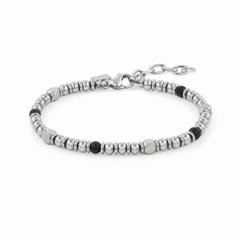 Nomination Instinct Bead Bracelet with Black Onyx
