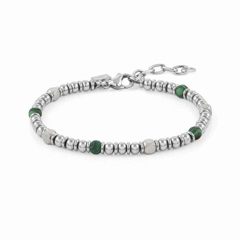 Nomination Instinct Bead Bracelet with Green Malachite 027905 45