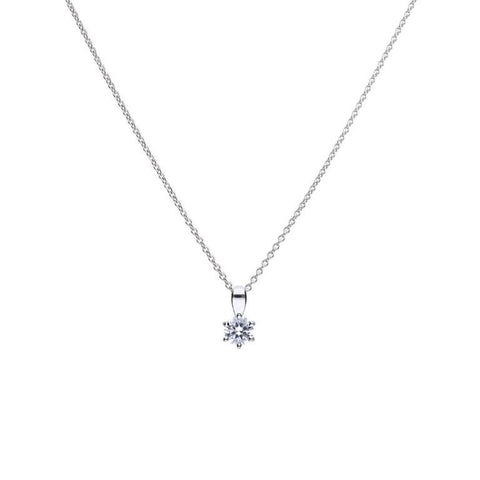 Diamonfire 0.25ct CZ Solitaire Pendant P4611 2910103