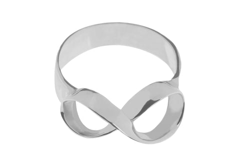 Tianguis Jackson Sterling Silver Infinity Ring R0922 0408056