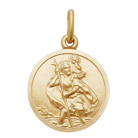 9ct Gold St Christopher Pendant PN145 0302349