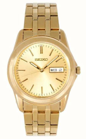 Seiko Gents Gold Bracelet Watch SGGA48P1 1004146