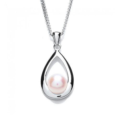 Purity 925 Sterling Silver & Freshwater Pearl Pendant PUR1337P